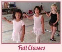 Fall Classes Marin Ballet