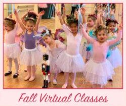 Fall Virtual Dance Classes Marin Ballet